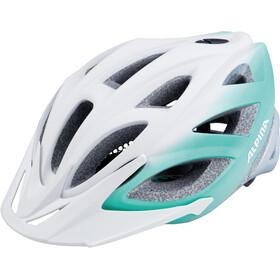 Alpina Seheos L.E. Pyöräilykypärä , valkoinen/turkoosi